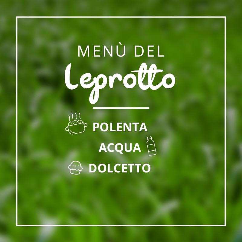 Menù del Leprotto